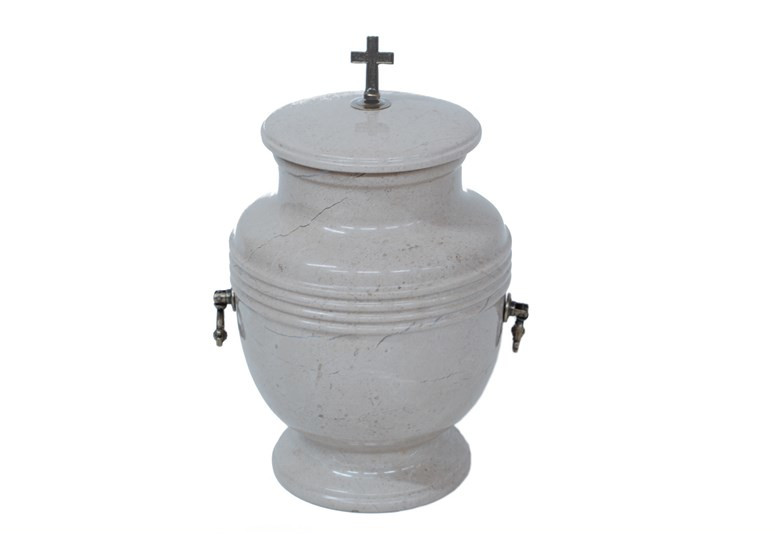 Urna polerowana na połysk granit